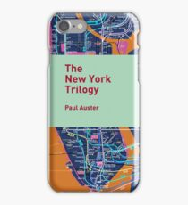 The New York Trilogy / Paul Auster iPhone Case/Skin