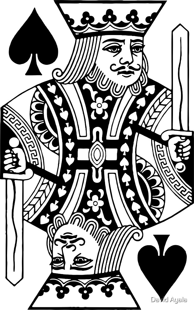 Quot King Of Spades Quot By David Ayala Redbubble