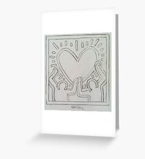 Ode to Keith Haring Greeting Card