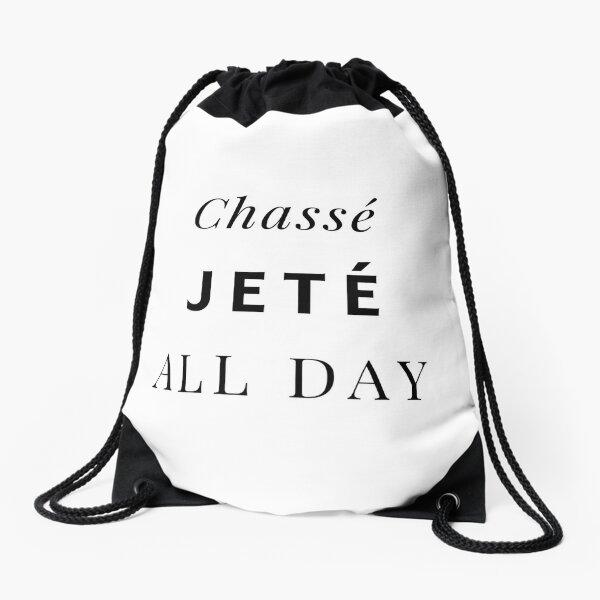 Chassé Jeté All Day Drawstring Bag