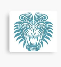 Tattoo Tiger - Year of the Tiger Canvas Print