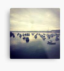 Gorey Boats Metal Print