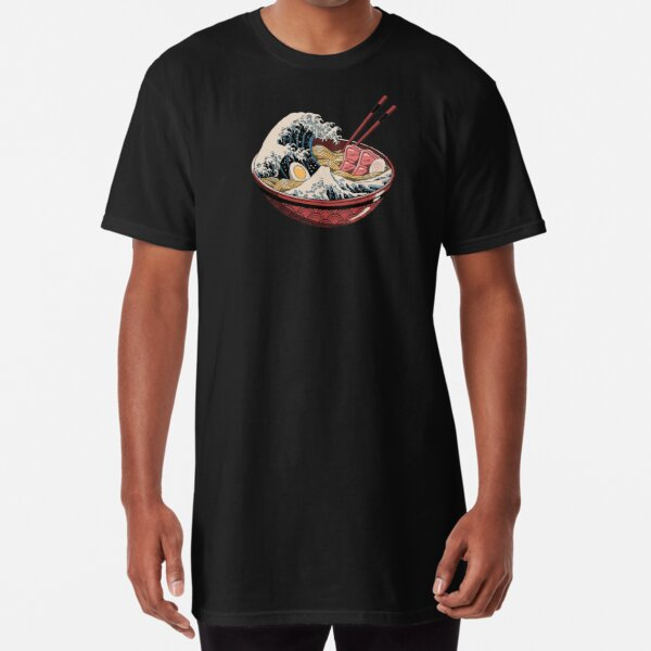 ramen wave Long T-Shirt
