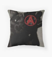 ALL CATS ARE BEAUTIFUL by ROOTCAT Throw Pillow