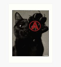 ALL CATS ARE BEAUTIFUL by ROOTCAT Art Print
