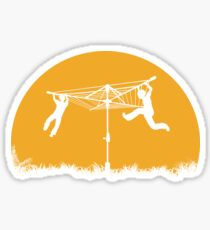 Merry Go Sunset Sticker