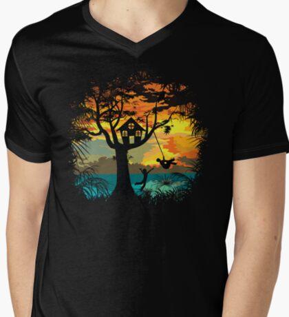 Sunset Silhouette Swing T-Shirt