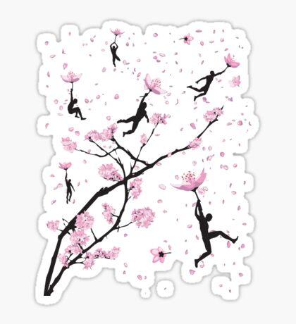 Blossom Flight Sticker