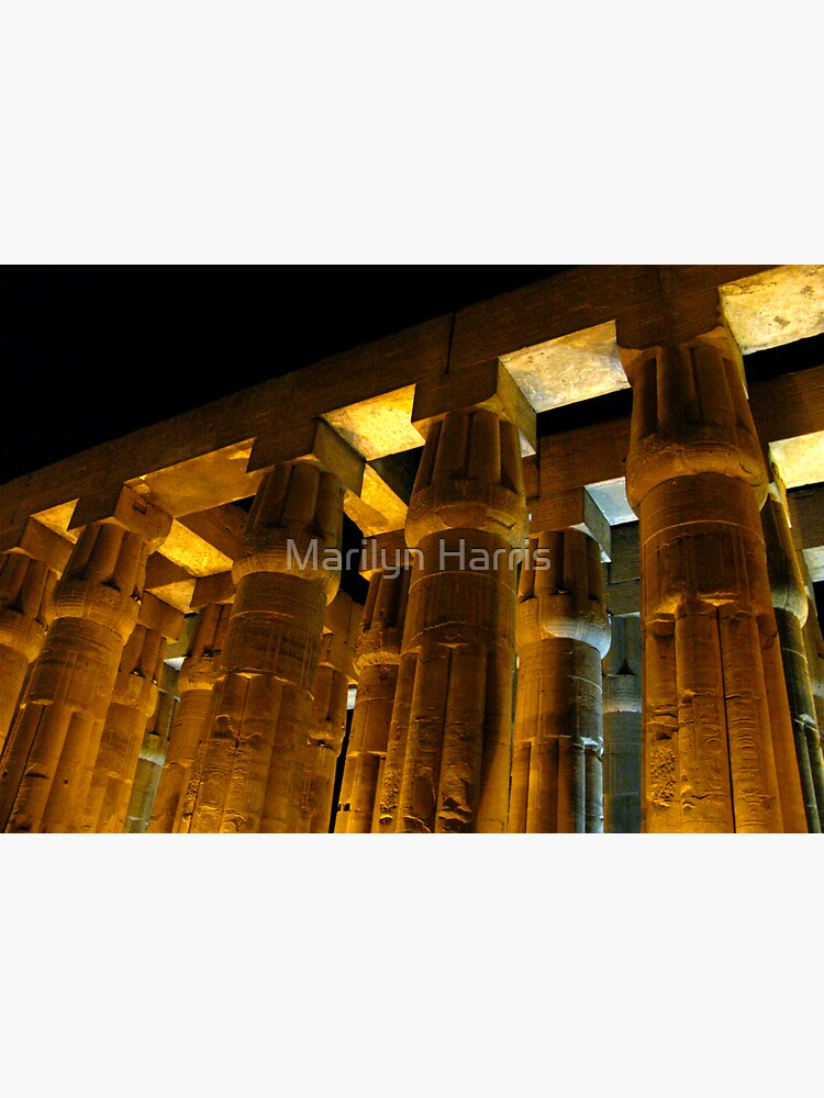 Luxor Temple - Luxor, Egypt by blossom