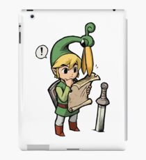Link's sense of direction iPad Case/Skin