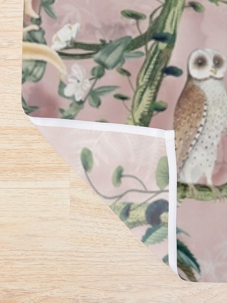 Alternate view of Wild Future pink Shower Curtain
