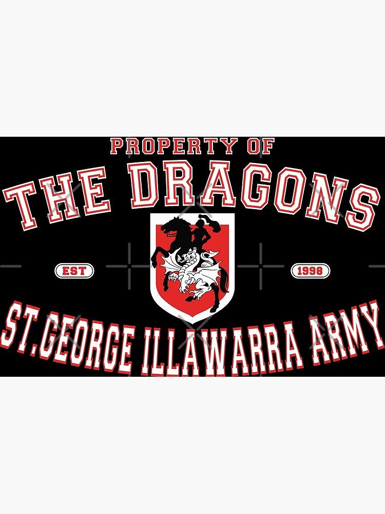 NRL - The St. George Illawarra Dragons Army  by kinkpen