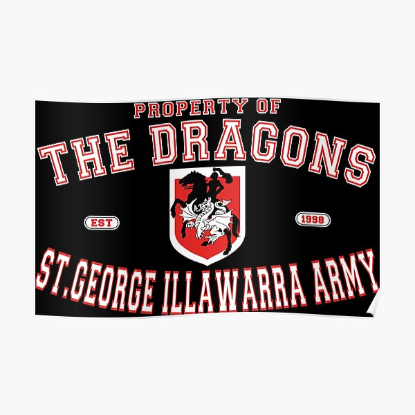 NRL - The St. George Illawarra Dragons Army  Poster