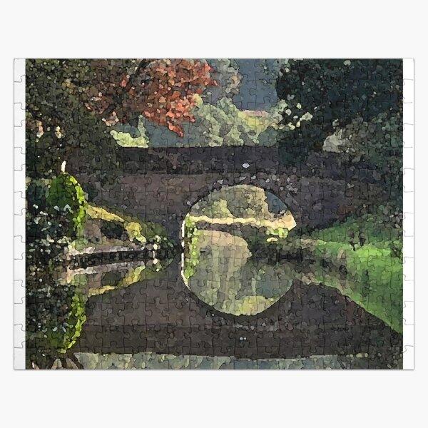 Leek and Calder Canal Watercolour Jigsaw Puzzle