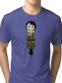 Mod Girl Tri-blend T-Shirt
