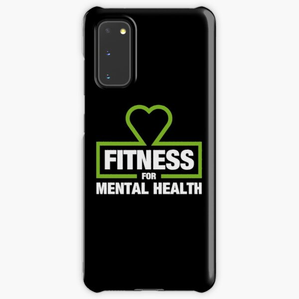 Fitness for Mental Health Samsung Galaxy Snap Case