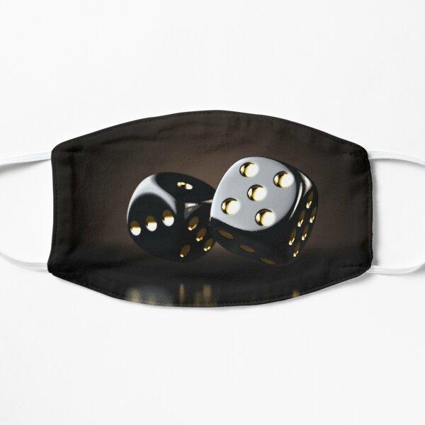 Black Casino Dice Mask