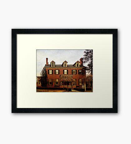 The Patchett House Framed Print