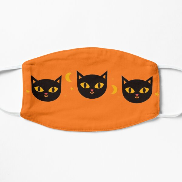 Copy of egyptian mummy black  cats- halloween collection/scared orange cat/trick or treat/ orange/ghost/autumn/funny/spooky/ghost /cute/death/savage Mask