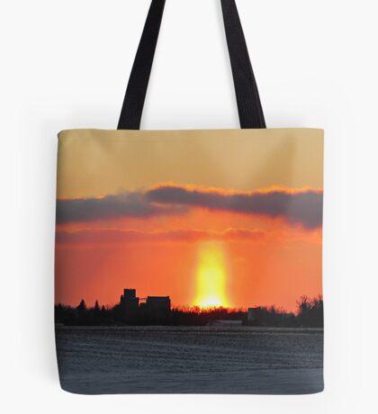 Prairie Geyser Tote Bag