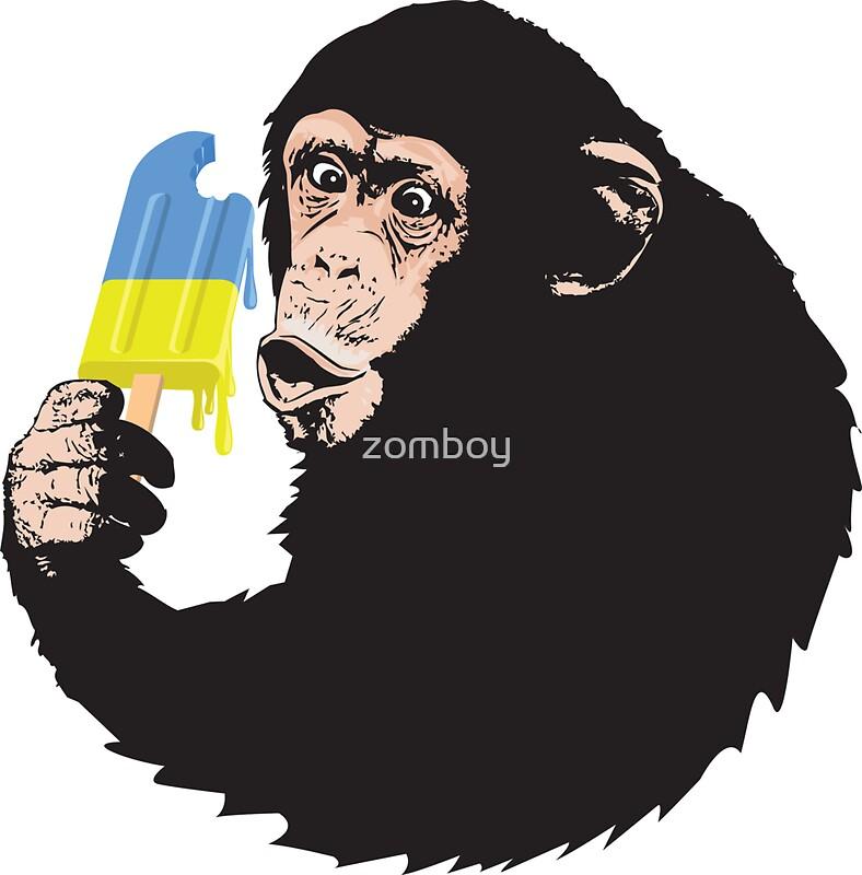 Oooooz chimp by zomboy