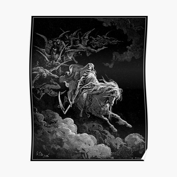 Death on the Pale Horse Poster