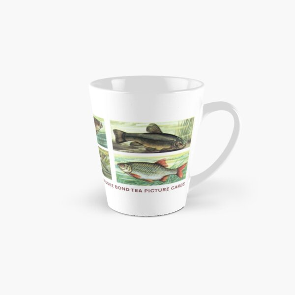 Freshwater Fish 1960 Brooke Bond PG Tips Tea Picture Cards Tall Mug