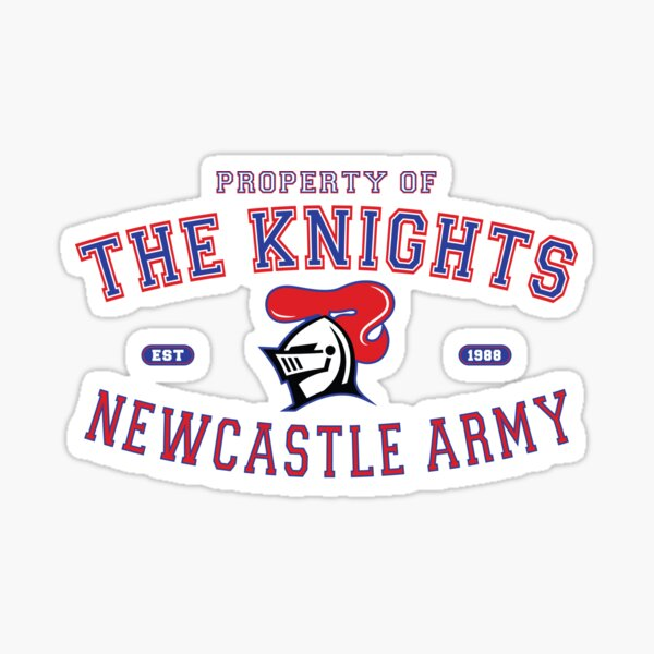 NRL - The Newcastle Knights Army  Sticker