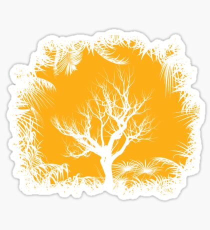 Tree Clearing Sticker
