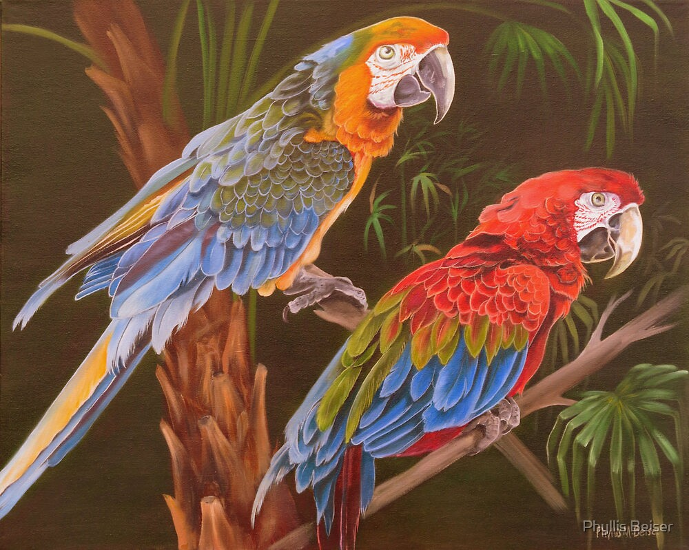 Dynamic Duo by Phyllis Beiser