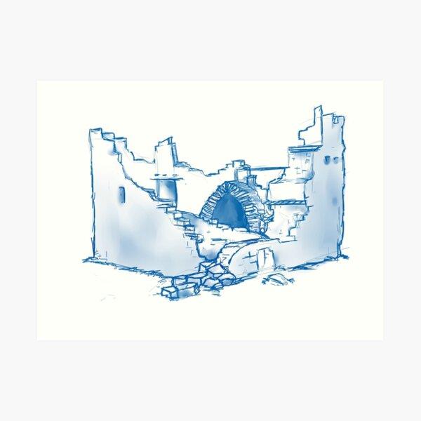 O'Brien's Castle Art Print
