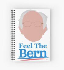 Bernie Sanders Simple Graphic Spiral Notebook
