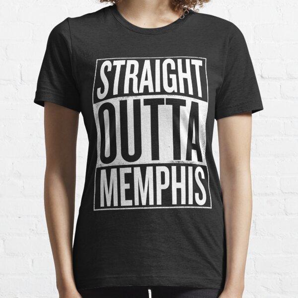 Straight outta Memphis Tennessee USA design Essential T-Shirt
