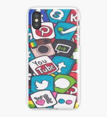 Social Media Collage iPhone Case