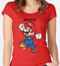 Mario Women's Fitted Scoop T-Shirt