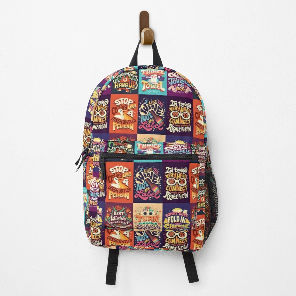 SC Collage Backpack