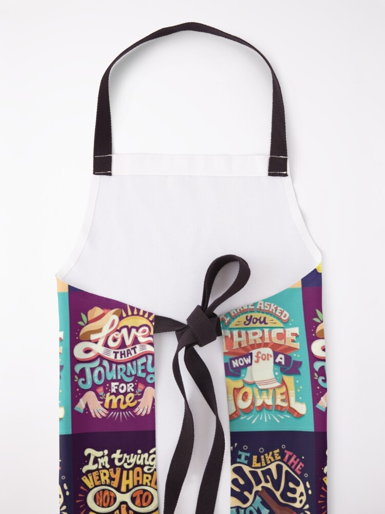 Alternate view of SC Collage Apron