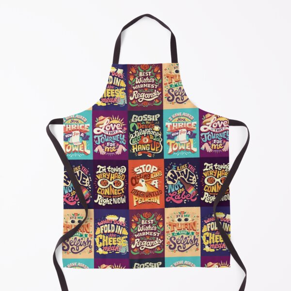 SC Collage Apron