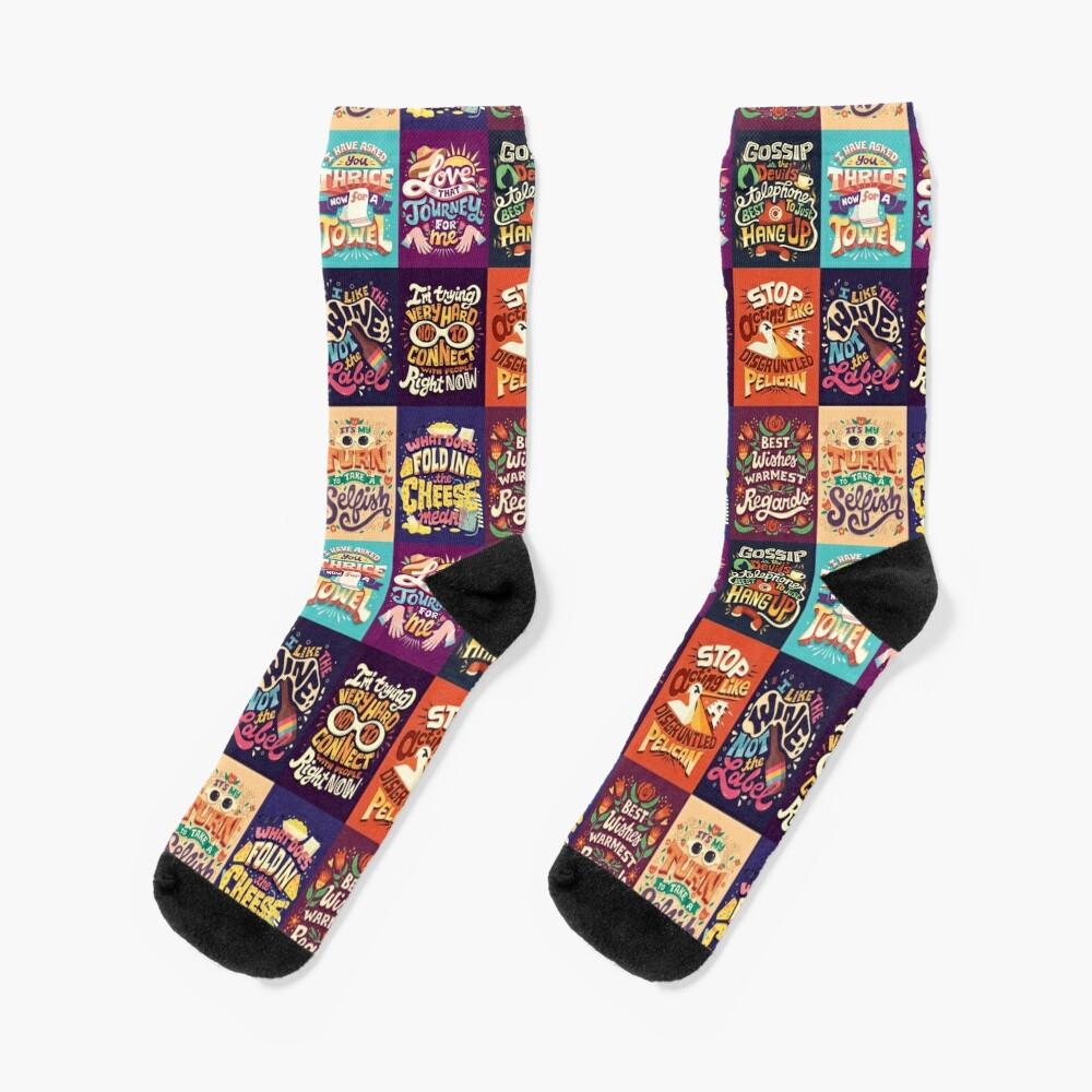 SC Collage Socks