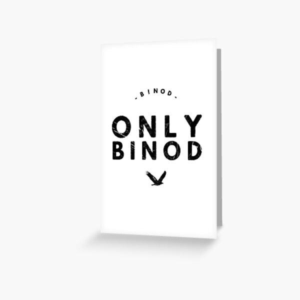 Binod Greeting Cards | Redbubble