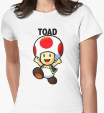 Toad Women's Fitted T-Shirt