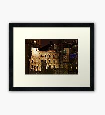 Urban Ruins Framed Print
