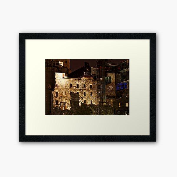Urban Ruins Framed Art Print