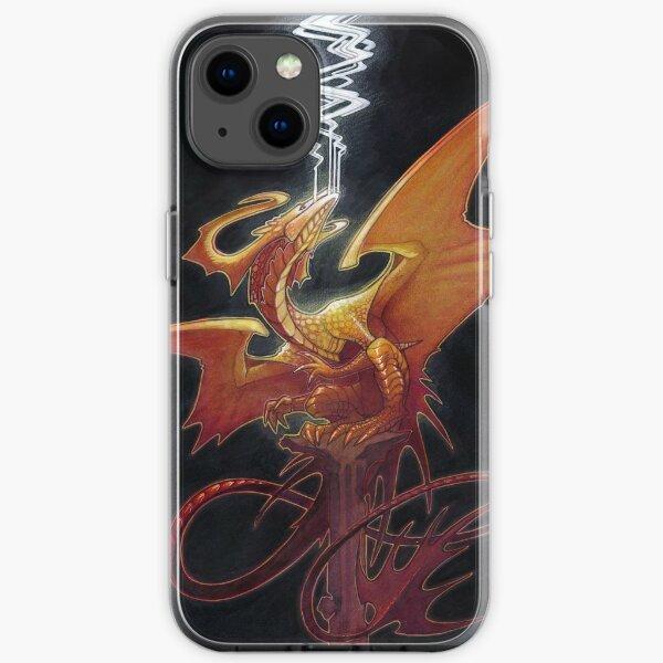 smoke iPhone Soft Case
