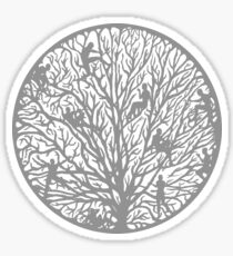 Tree of People Life Sticker
