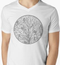 Tree of People Life Men's V-Neck T-Shirt