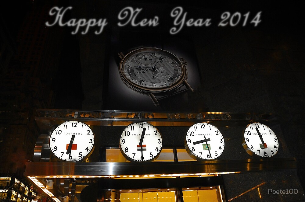 Happy New Year 2014 by Poete100
