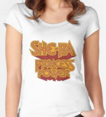 She-Ra Princess of Power - Logo - Color Women's Fitted Scoop T-Shirt