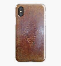 Leather Book Case iPhone Case/Skin