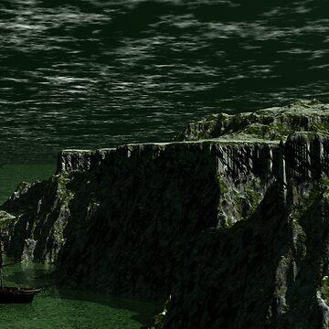 Flying Dutchman's Anchorage by Sazzart
